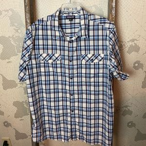 Patagonia high moss shirt S/S XXL NWOT